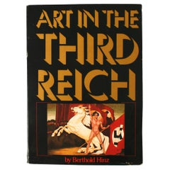 Art in the Third Reich by Berthed Hinz, First Edition