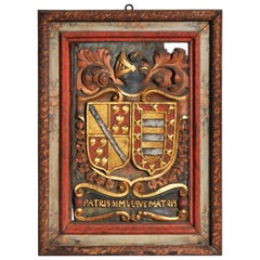 Family Crest from a Chateau