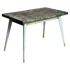 Industrial Work Table Tolix Brand