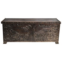 Imperial Double-Eagle Design Coffer