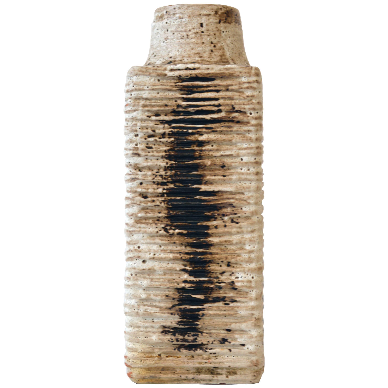 Red Clay Vase by Carstens Tonnieshof, Mid-Century, West German