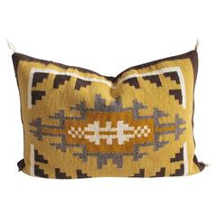 Two Grey Hills Geometric Pillow