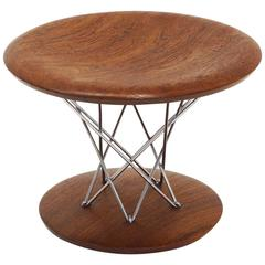 Isamu Noguchi Rocking Stool, Model 85T, Early Walnut Version