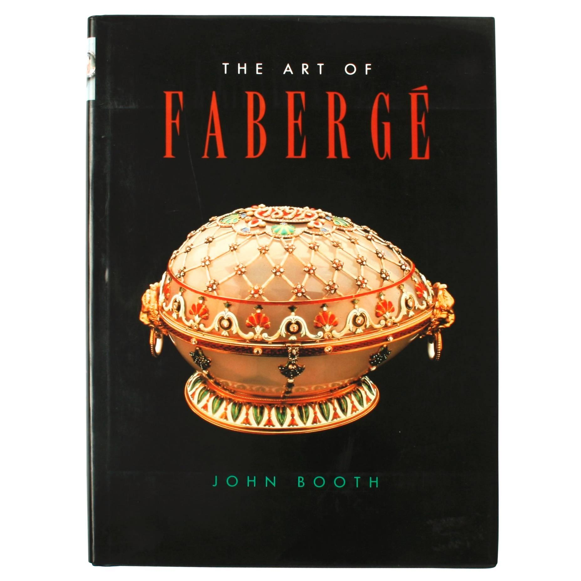 Art of Fabergé by John Booth, First Edition