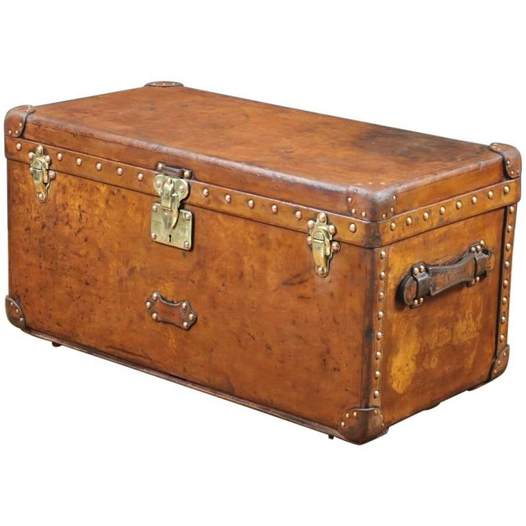 Lv Trunk Coffee Table: 1930, Louis Vuitton Trunk For Shoes At 1stdibs
