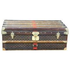 1890s Louis Vuitton Cabin Damier Trunk
