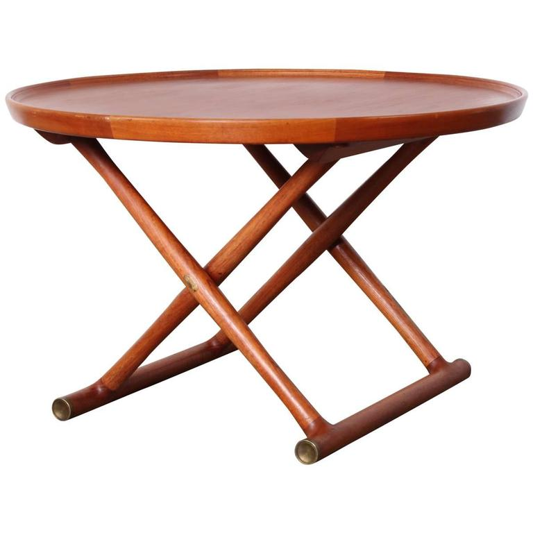 Egyptian Table by Mogens Lassen for A.J. Iversen