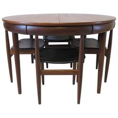 Hans Olsen Teak Danish Dining Set for Frem Rojle, Denmark