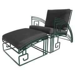 """Biltmore"" Iron Chaise by Marina McDonald for Jazz"