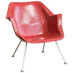 1957, Wim Rietveld/André Cordemeyer, Chair 416 Version by Gispen Holland