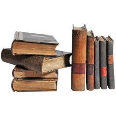 Leather Bound Set of Spanish Books