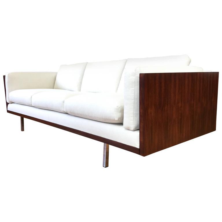 Rare Komfort Of Denmark Rosewood Case Sofa At 1stdibs