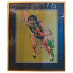 Leroy Neiman Olypic Runner Print