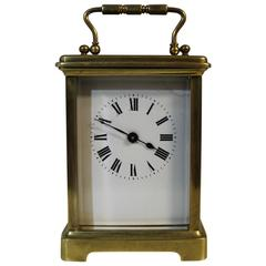 French Couaillet Freres Carriage Clock of Saint-Nicolas-D'Aliermont