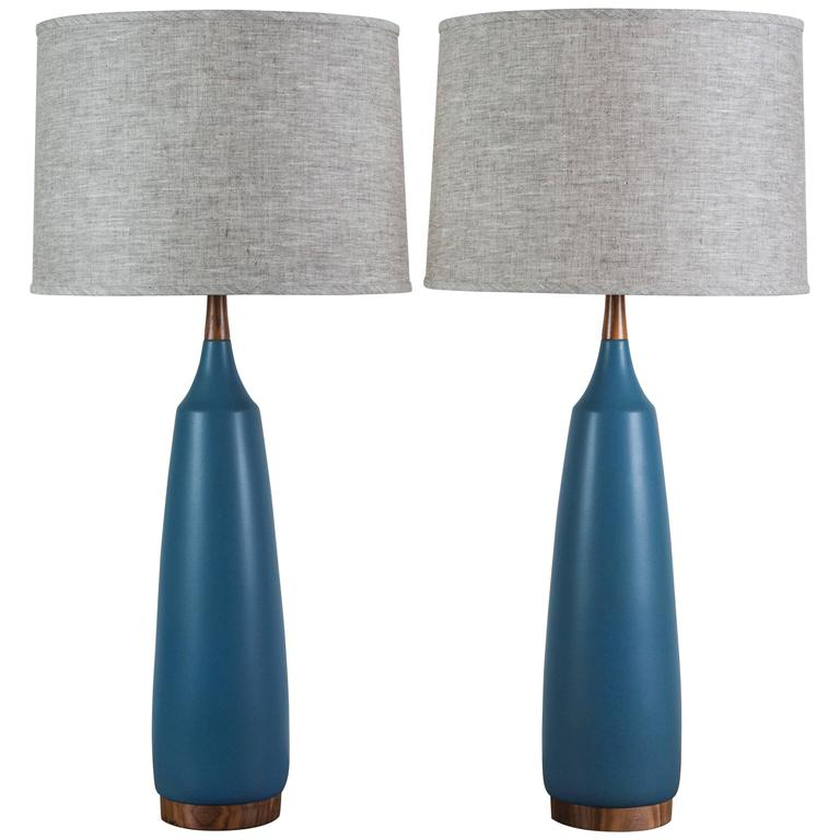 Pair of Laurel Lamps by Stone and Sawyer 1