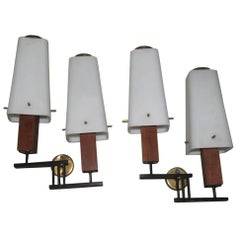 Esperia Pair of Wall Sconces Mid-Century Italian Design