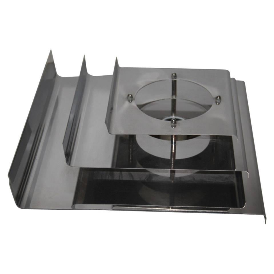 Panel Wall Curved Steel 1970 Minimal Design