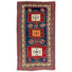 Large Antique Fachralo Kazak Rug, circa 1880