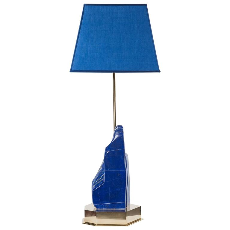 Studio built unique table lamp by studio kalff at 1stdibs