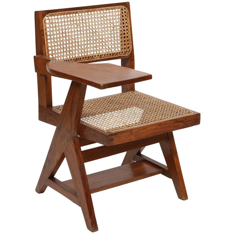 Pierre Jeanneret Student Chair For Sale