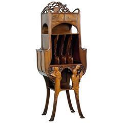 René Deflandre, a Cherrywood Music Cabinet