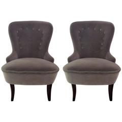 Pair of Swedish Slippers Chairs