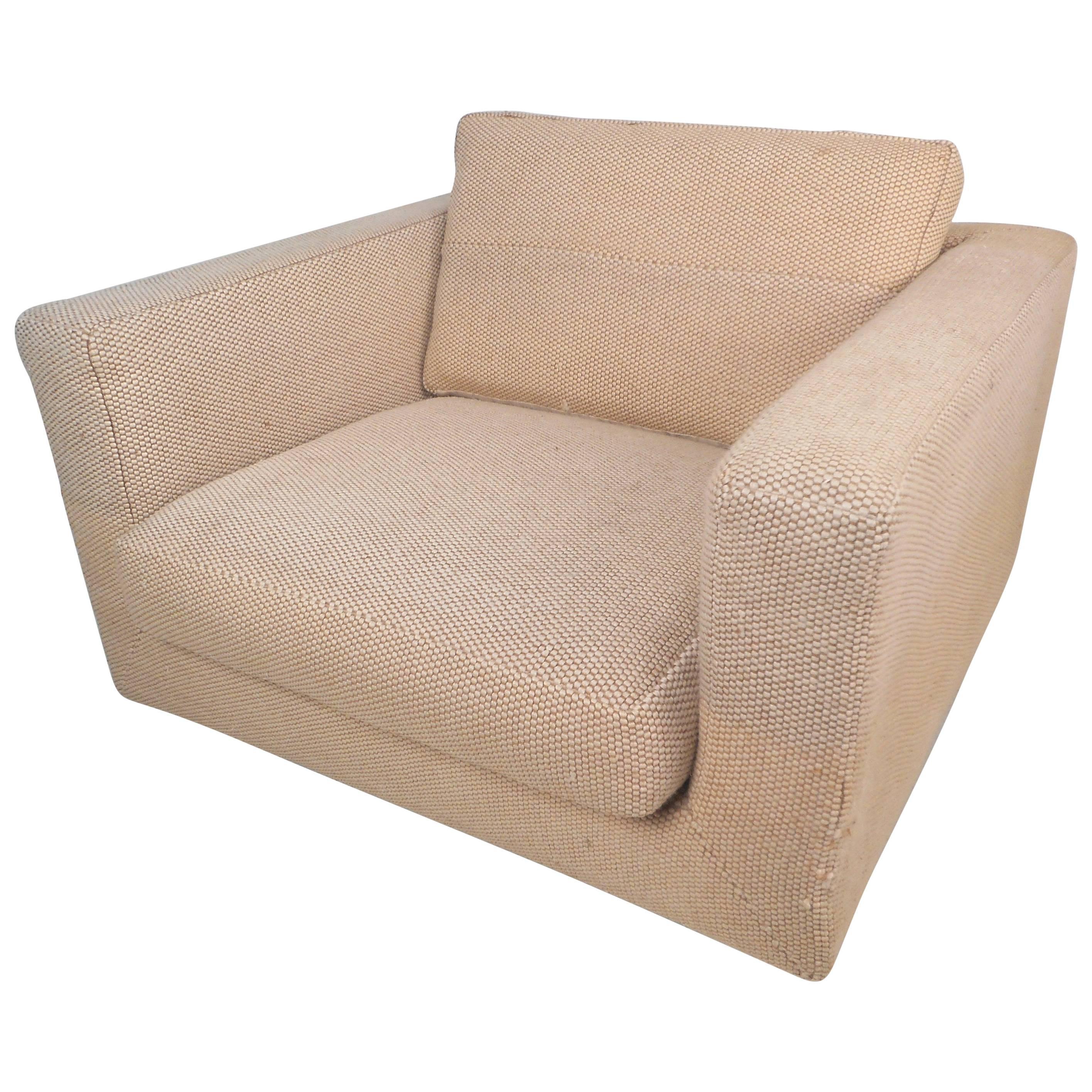 Impressive Mid-Century Modern Club Chair by Dunbar