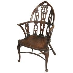 Antique Early 20th Century Gothic Armchair