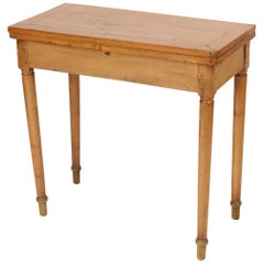 Directoire Fruit Wood Backgammon Table