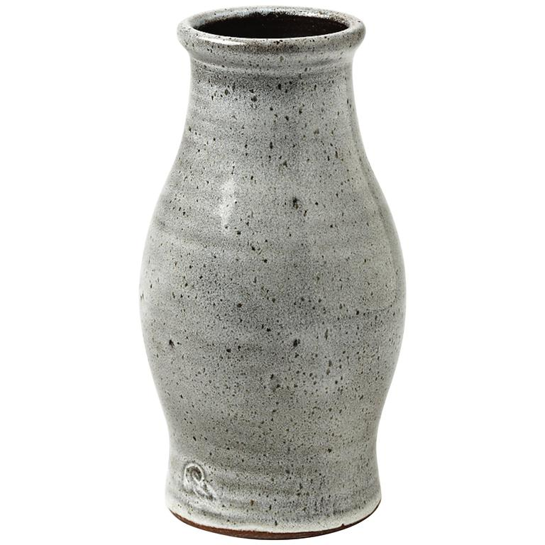 Stoneware Vase by the Workshop Pierlot, Ratilly, France, 1970-1980