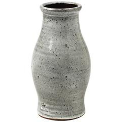 Stoneware Vase by the Workshop Pierlot, Ratilly, France, 1970-1980