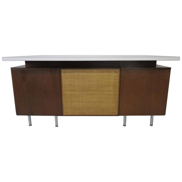 George Nelson Desk from a National Historic Landmark Eero Saarinen Building For Sale