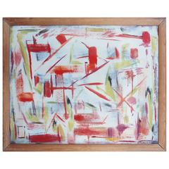 Little Abstract Painting by Bert Miripolsky