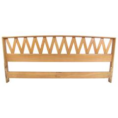 Mid-Century Paul Frankl King-Size Bed Headboard