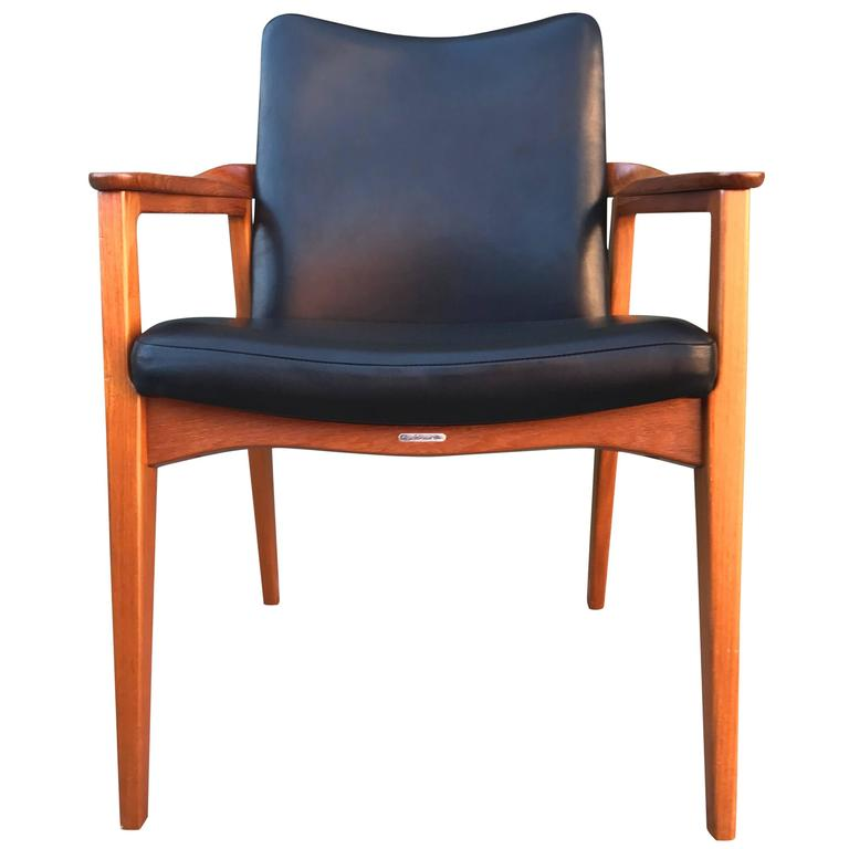 Count Sigvard Bernadotte Danish Armchair France & Son 1