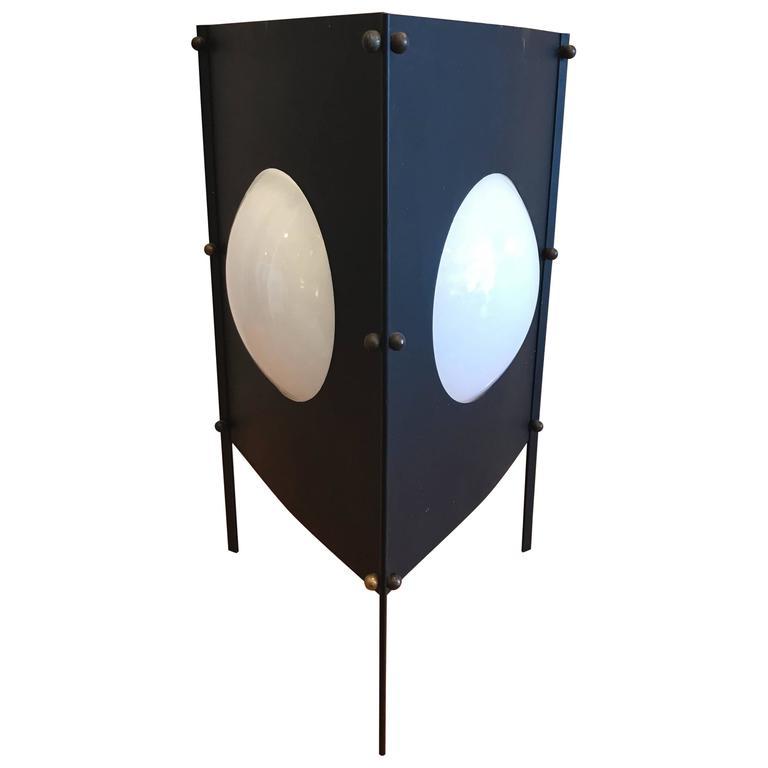 1950s Modernist Box Kite Table Lamp 1