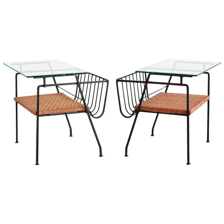 Arthur Umanoff Style End Tables 1