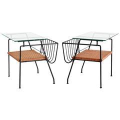 Arthur Umanoff Style End Tables