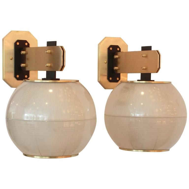 Sconces in the Style of Gardella For Sale