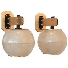 Sconces in the Style of Gardella