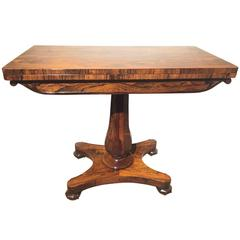 19th Century Rosewood Card Table, English, circa 1830