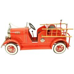 Vintage American National Pedal Fire Truck