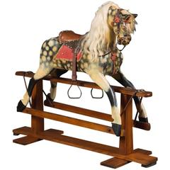 Original Victorian Rocking Horse