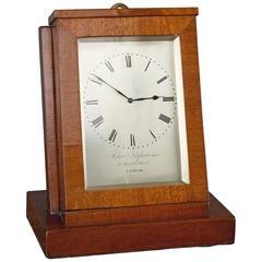 Mahogany Sedan Clock, circa 1850