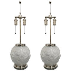 Pair of French Art Deco Table Lamps