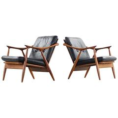 Pair Frederik Kayser Lounge Chair for Vatne Norway