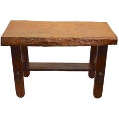 Adirondack Rustic Free Edge Slab Table