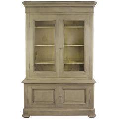 19th Century, French Bibliothèqu/ Bookcase/ Linen Press/ Cupboard/ Armoire