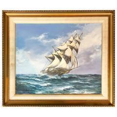 """At Full Sail"" by John Bentham-Dinsdale"