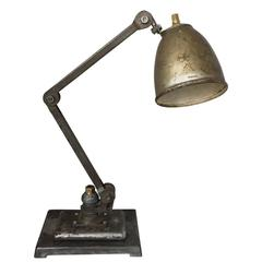 Vintage Industrial Machinists Anglepoise Lamp